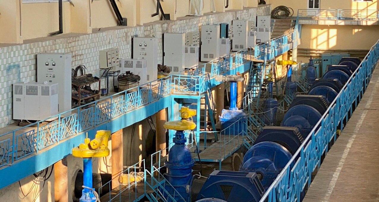 Комплексная поставка для Узбекгидроэнерго