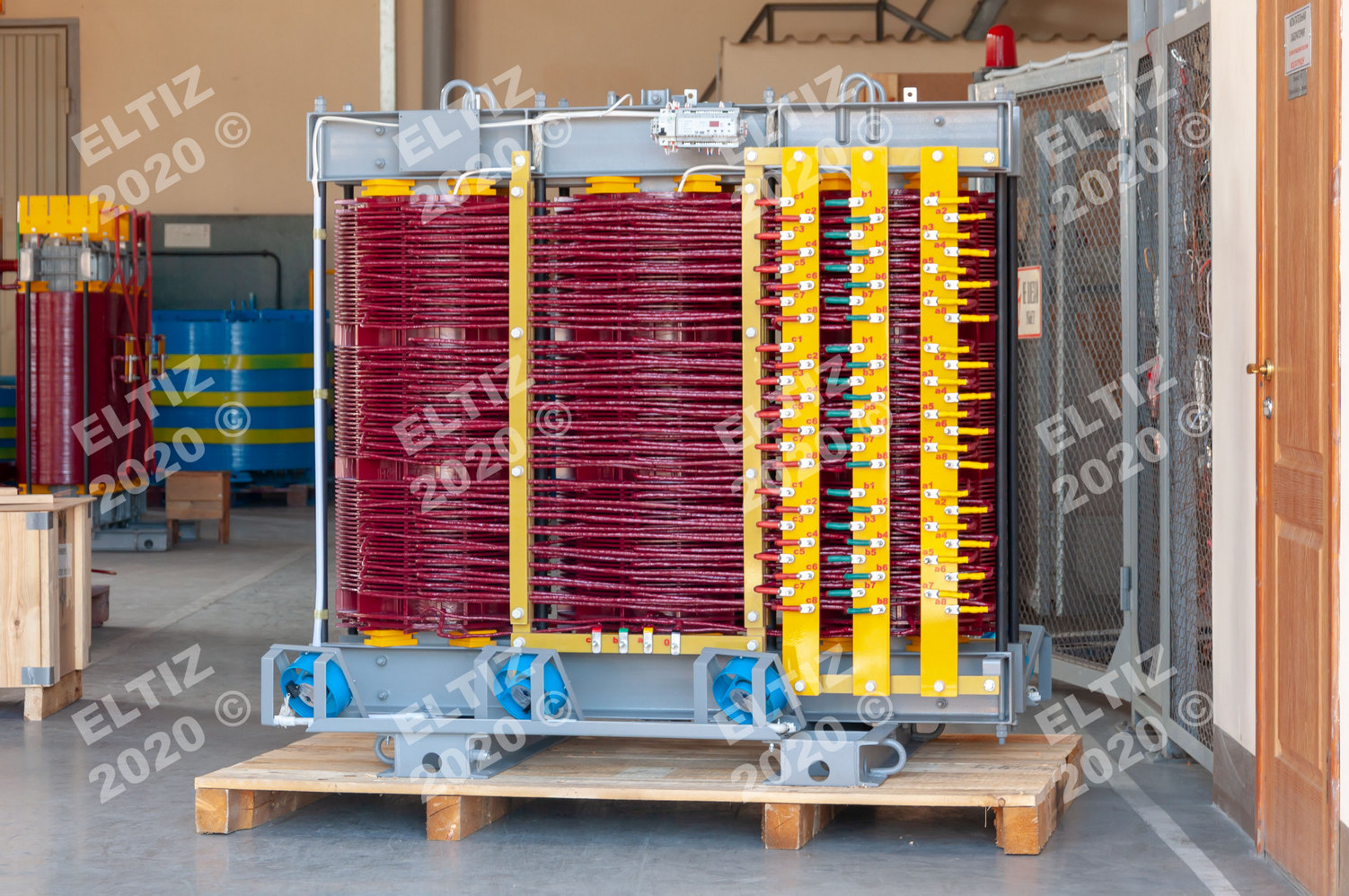 24-обмоточный сухой трансформатор